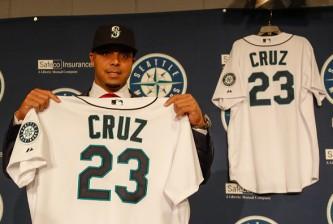 Seattle Mariners Introduce Nelson Cruz