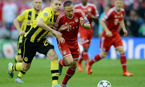 Soccer: Champions League Final-Borussia Dortmund vs Bayern Munich