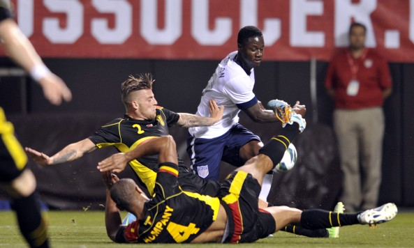 Soccer: Friendly-Belgium at USA