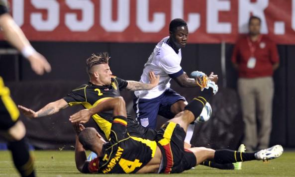 Soccer: Friendly-Belgium at USA