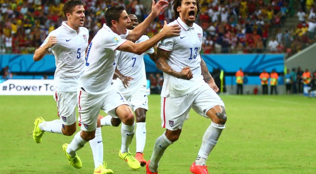 Soccer: World Cup-USA vs Portugal