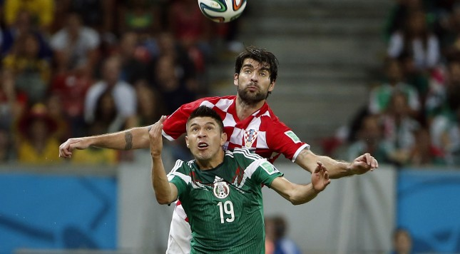 Soccer: World Cup-Croatia vs Mexico
