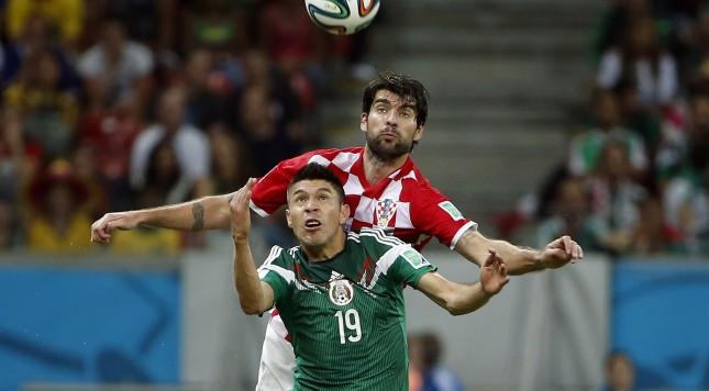 Soccer: World Cup-Croatia vs Mexico