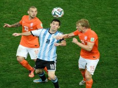 Soccer: World Cup-Argentina vs Netherlands