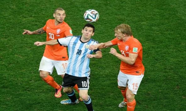 Soccer: World Cup-Argentina vs Netherlands