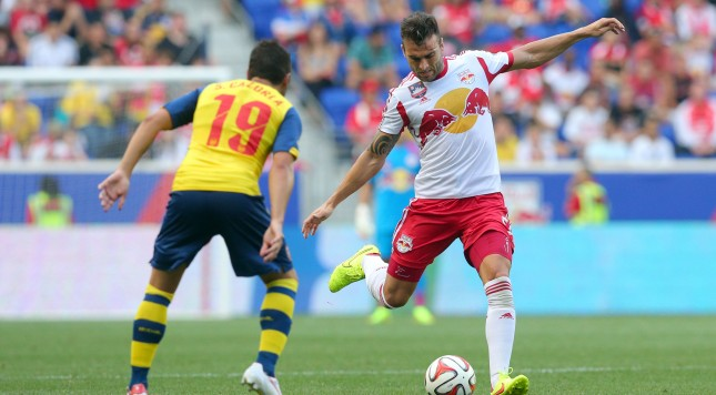 MLS: Friendly-Arsenal at New York Red Bulls
