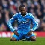 LONDON, ENGLAND - JANUARY 17:  Jermain Defoe of Sunderland looks dejected during the Barclays Premier League match between Tottenham Hotspur and Sunderland at White Hart Lane on January 17, 2015 in London, England.  (Photo by Paul Gilham/Getty Images)