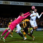 xxxx during the FA Cup Fourth Round match between Cambridge United and Manchester United at The R Costings Abbey Stadium on January 23, 2015 in Cambridge, England.