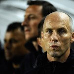 CARSON, CA - JANUARY 22:  Bob Bradley coach of the United States follows during the friendly soccer match against Chile at The Home Depot Center on January 22, 2011 in Carson, California.  (Photo by Kevork Djansezian/Getty Images)