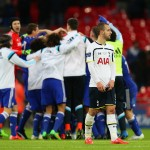 during the Capital One Cup Final match between Chelsea and Tottenham Hotspur at Wembley Stadium on March 1, 2015 in London, England.