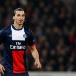 PARIS, FRANCE - MARCH 12:  Zlatan Ibrahimovic of PSG speaks to team mates during the UEFA Champions League Round of 16 second leg match between Paris Saint-Germain FC and Bayer Leverkusen at Parc des Princes on March 12, 2014 in Paris, France.  (Photo by Dean Mouhtaropoulos/Getty Images)