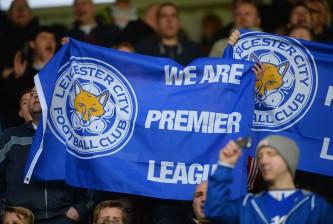 LEICESTER, ENGLAND - APRIL 08:  LEICESTER, ENGLAND - APRIL 08 Leicester fans display a banner during the Sky Bet Championship match between Leicester City and Brighton & Hove Albion at The King Power Stadium on April 08, 2014 in Leicester, England,  (Photo by Michael Regan/Getty Images)