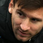 LANDOVER, MD - MARCH 28: Lionel Messi #10 of Argentina looks on before playing El Salvador during an International Friendly at FedExField on March 28, 2015 in Landover, Maryland. (Photo by Patrick Smith/Getty Images)