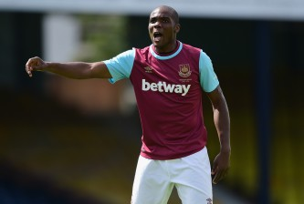 SOUTHEND, ENGLAND - JULY 18:  Angelo Ogbonna of West Ham United in action during the pre season friendly match between Southend United and West Ham United at Roots Hall on July 18, 2015 in Southend, England.  (Photo by Jamie McDonald/Getty Images)