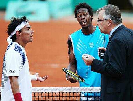 Gael Monfils and Fabio Fognini
