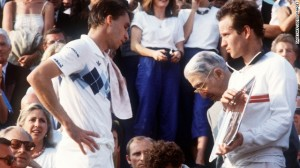 Two careers and two styles of play moved in different directions at the end of the 1984 Roland Garros men's tournament. The impact on men's tennis in the 1980s and beyond was considerable.