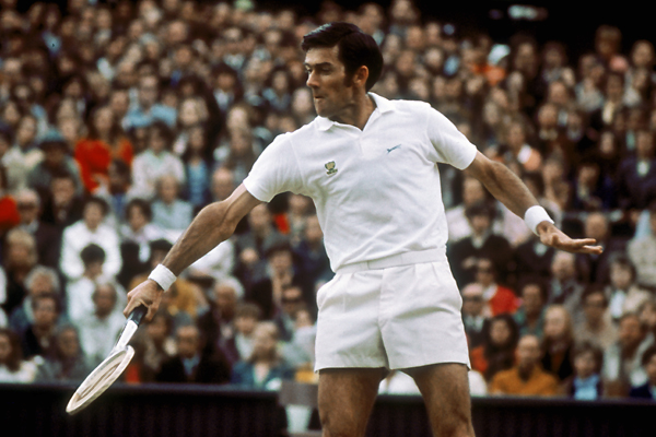 He played in the 1954 and 1974 Wimbledon singles finals. Ken Rosewall might not have written the book on tennis longevity, but he certainly authored several chapters.