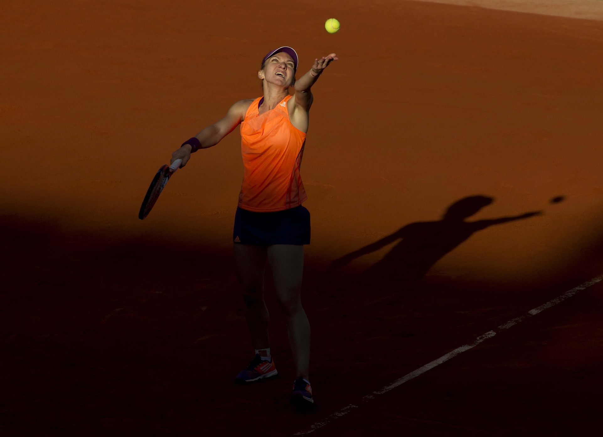 Simona Halep has emerged from the shadows not just in 2014, but over the past 12 months. Saturday, she will try to refute the notion that playing in one's first major final represents an occasion far too powerful for a young player's nerves.