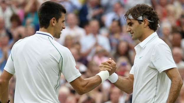 Federer might be better on current form, and he certainly has the style of play that's made for grass, but Djokovic's return game was quite poor in the 2012 Wimbledon semifinal between the two men. If Djokovic's return is firing properly, Federer is going to have to hit many dozens of perfect serves just to stay in the hunt.