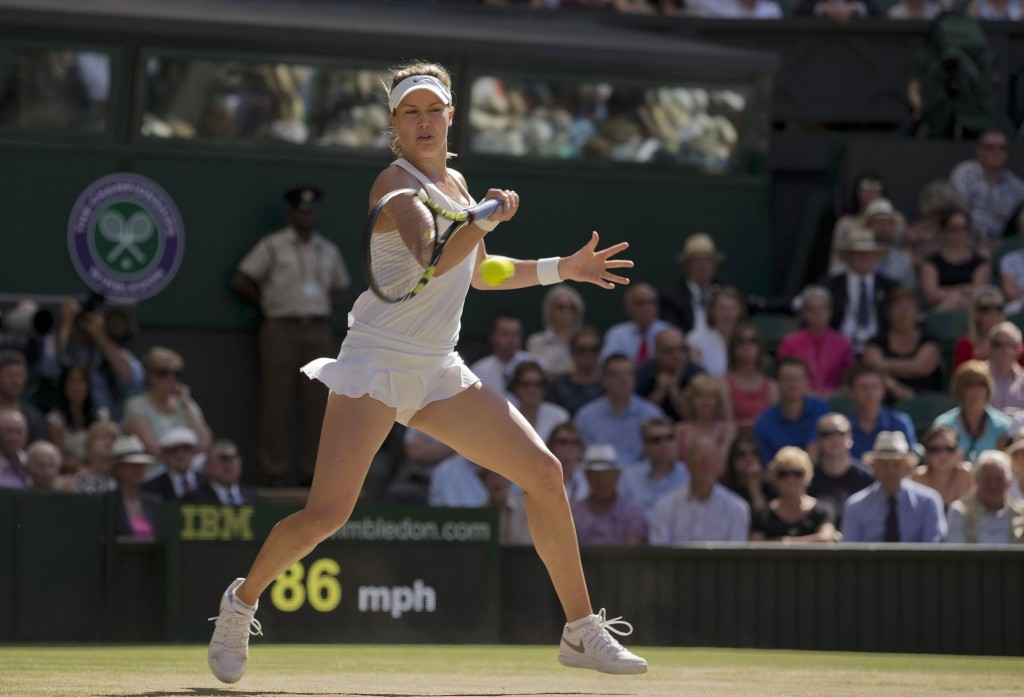 Eugenie Bouchard's return of serve has to apply pressure to Petra Kvitova on Saturday, most realistically in terms of punishing any second serve she sees. If Bouchard can't frustrate Kvitova when receiving serve, she'll need to use the hold-serve-and-swipe-a-tiebreak method that's  such a central part of winning Wimbledon.