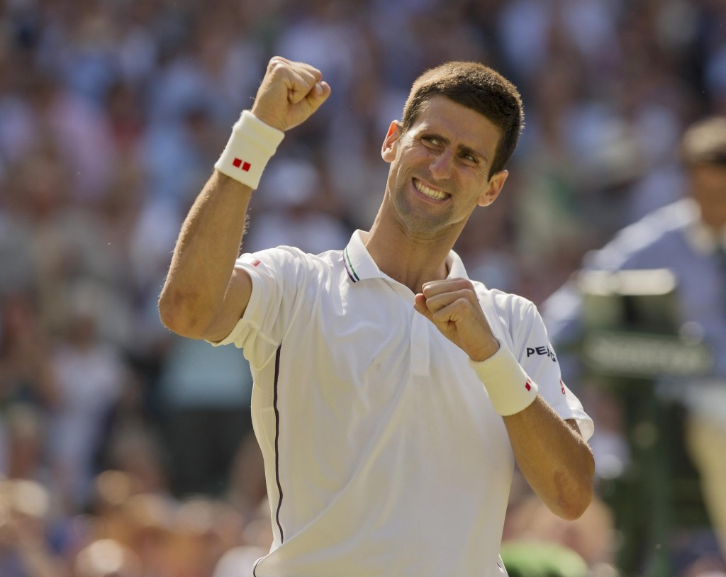 "Does Novak Djokovic always play ""pretty tennis""? No. It's also true that unlike beauty pageants, figure skating competitions, and Olympic diving contests, style points do not determine who wins and loses. Djokovic is a ""find a way"" expert. On Friday, he found his way to a 12th final in the last 16 majors."