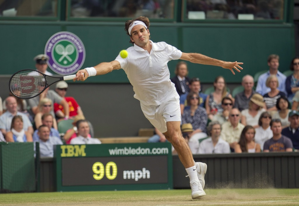 Roger Federer reached a ninth Wimbledon semifinal and his 35th major semifinal on Wednesday. Old-man nerves can be just as volatile as young-man nerves, and that tension will be something to watch in Federer's semifinal against Milos Raonic on Friday.