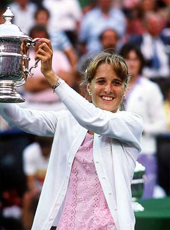 Tracy Austin's career was cut short by injuries, but her 1981 U.S. Open championship was itself a manifestation of her ability to back up one achievement (in 1979) with another. Austin won something very important that day, and so did Martina Navratilova, who felt supported by a New York crowd in ways she'd never quite felt before.