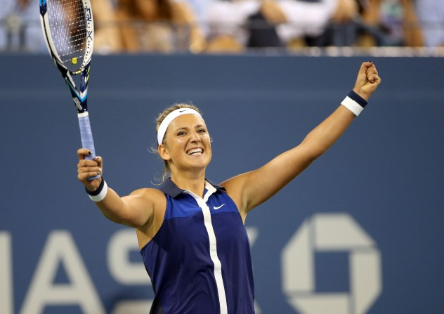 Like Maria Sharapova, Victoria Azarenka relishes competing and genuinely enjoys dealing  with on-court adversity. Playing with such fire and anger leads to stormy moments on court, but the key point to realize with Azarenka and Sharapova is that they channel their frustrations and dissatisfactions into improved performance as a match continues. This separates the two from so many of their peers on the WTA Tour. When they're on the court, they're all business, and they project nothing other than ruthless, hard-edged ferocity. Yet, that exterior melts away after match point... because they usually win and can smile in the face of their hard-earned achievements. That's how the story of women's tennis has developed over the past few years in the halves of draws not containing Serena Williams.