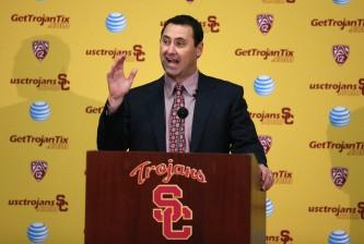 USC Introduces Steve Sarkisian