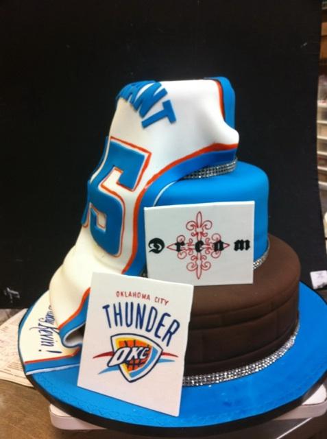 Kevin Durant birthday cake 2