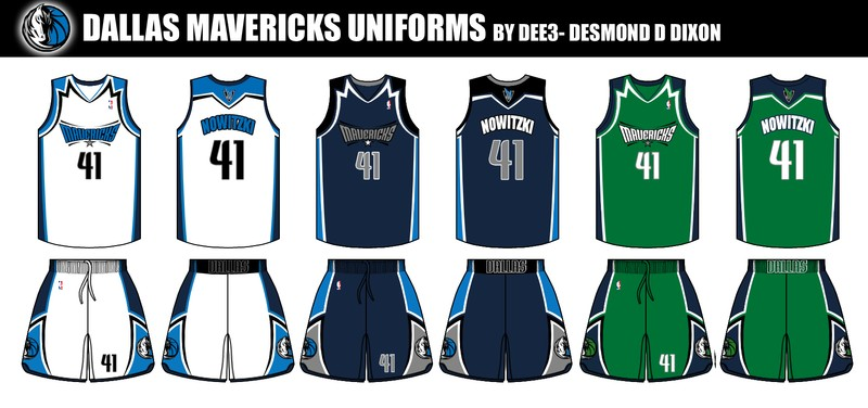 Previewing The Mavericks Crowdsourced Jersey Crossover
