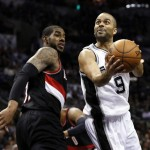 TonyParkerSpurs_Blazers050614