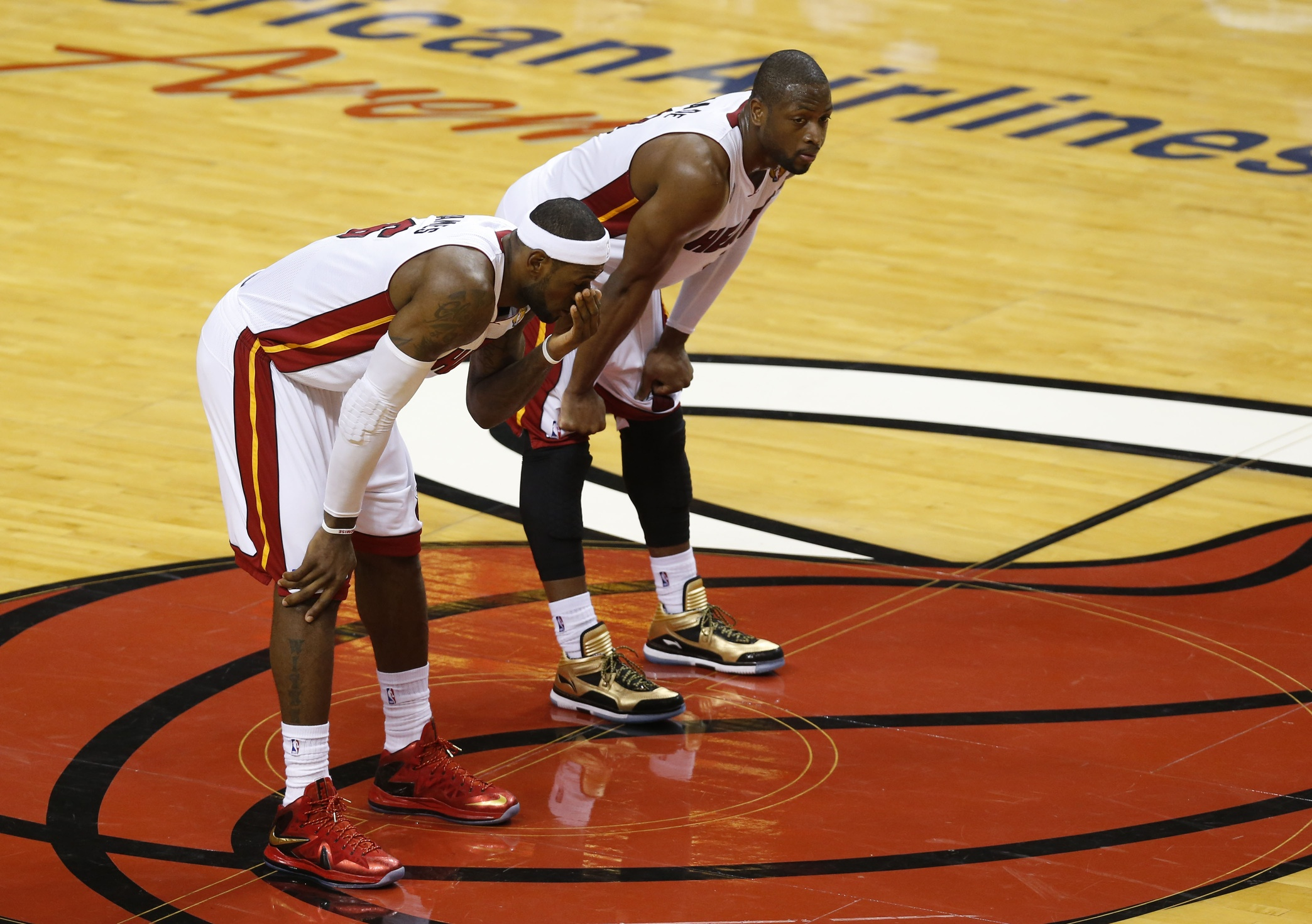 LeBron James and the Heat are still very good. But he needs his sidekick. Photo by Derick E. Hingle-USA TODAY Sports