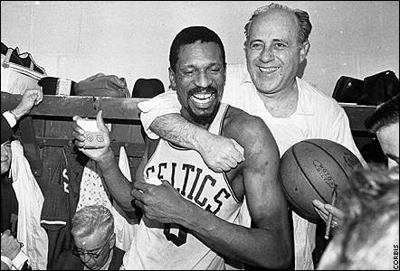 The NBA was much smaller in the 1960s than it is today. Media scrutiny and player egos weren't oversized. Yet, the gold standard of coach-player relationships -- certainly in the NBA, and quite possibly in any North American pro sport -- still is the one created by Red Auerbach and Bill Russell. It probably always will be, too.