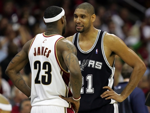 A Finals relationship that began in 2007 -- and which stands tied at one series win per player -- heads to Round 3 as Tim Duncan and LeBron James square off.