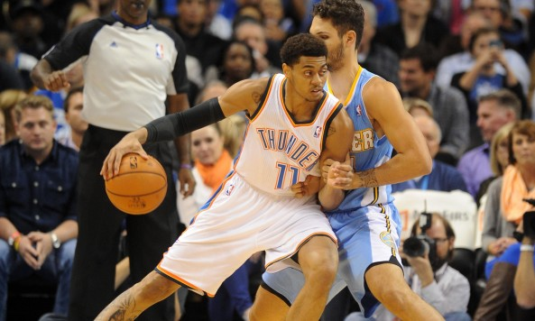 Jeremy Lamb was a Summer League stud last year, but faced struggles in his second time around. Photo by Mark D. Smith-USA TODAY Sports