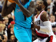 Lance Stephenson has not found his footing on either end of the floor in his first year in Charlotte. Photo by Steve Dykes-USA TODAY Sports