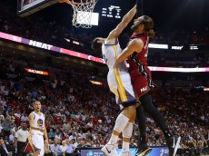 Golden State Warriors v Miami Heat