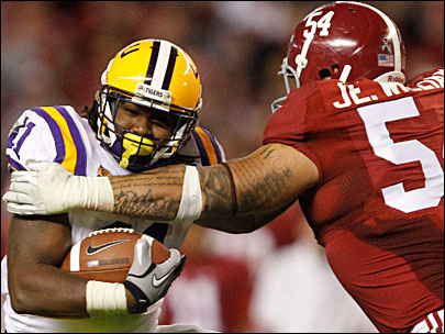 LSU-Alabama-Football