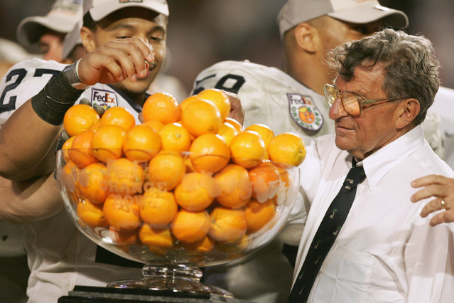 2006 Orange Bowl Joe Paterno