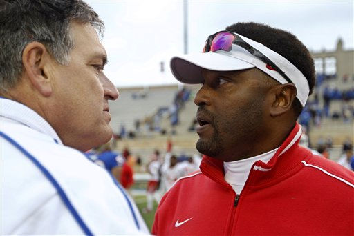 Bill Blankenship and Kevin Sumlin