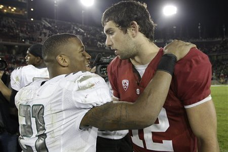 LaMichael James and Oregon had the upper hand on Andrew Luck and Stanford in 2011.
