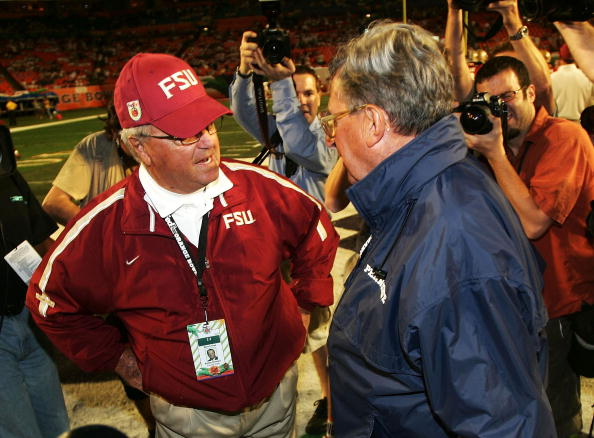 Bobby Bowden and Joe Paterno