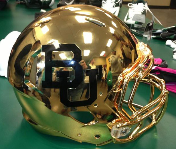 Baylor Ushers In A Golden Helmet Era Crystal Ball Run