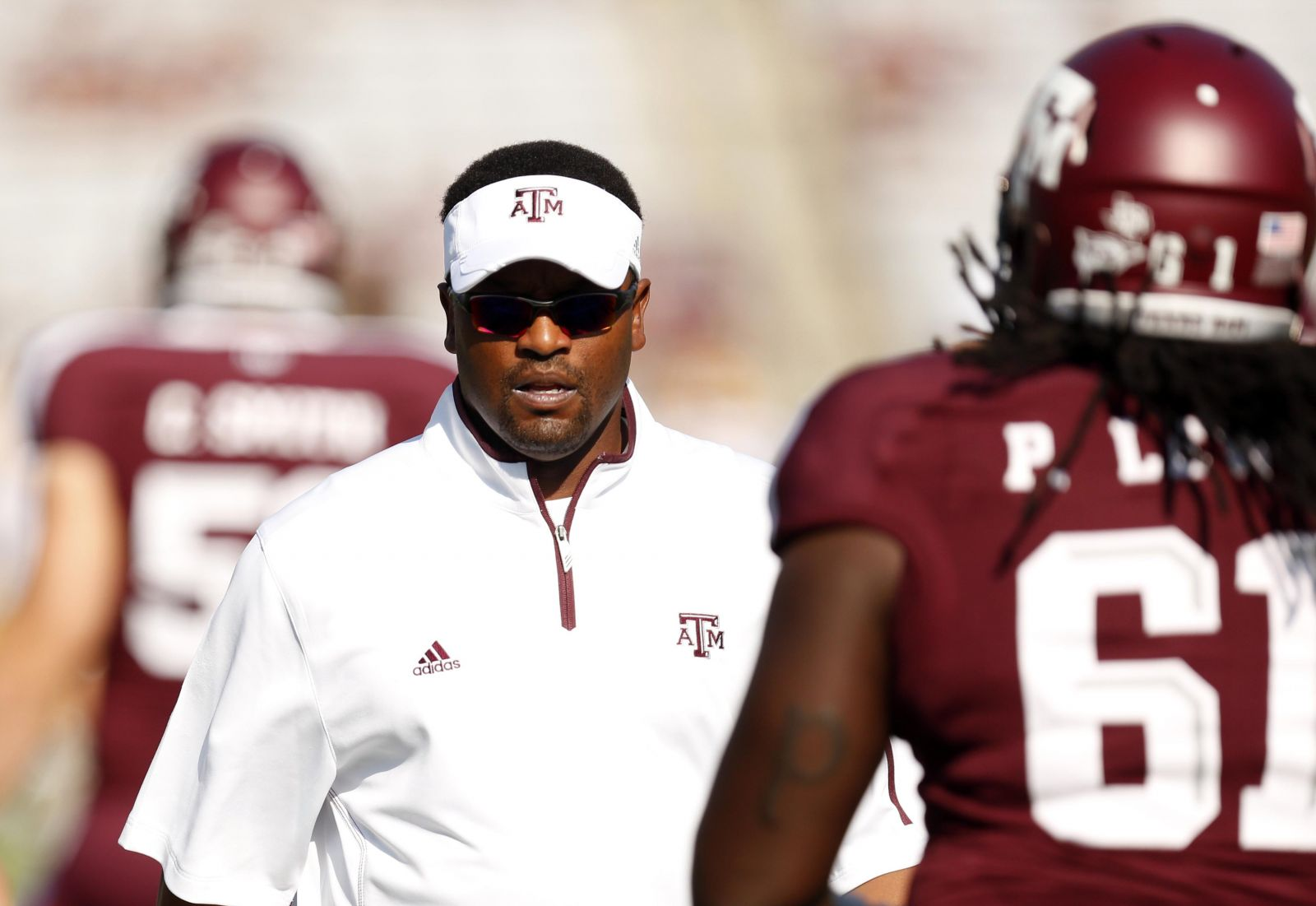 Texas A Amp M Brings Dj To Spring Practice Sumlin S Swag
