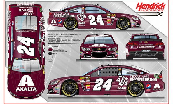 Texas A&M race car
