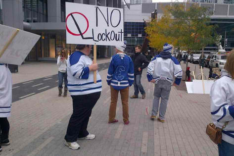 leafsfansprotest