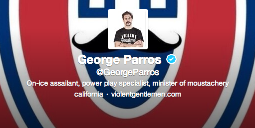 George Parros College George Parros' New Twitter