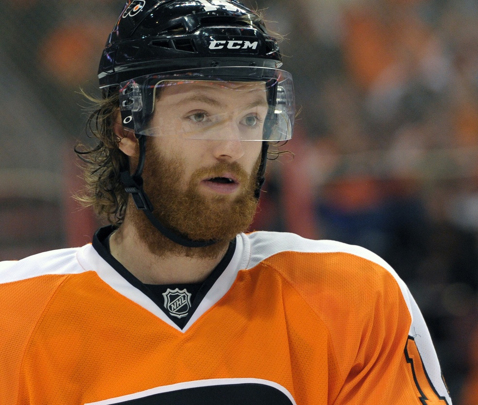 The Evolution Of Sean Couturier S Beard Is Terrifying