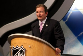 MONTREAL, QC - JUNE 26:  Executive Vice President and General Manager Ray Shero of the Pittsburgh Penguins speaks at the podium during the first round of the 2009 NHL Entry Draft at the Bell Centre on June 26, 2009 in Montreal, Quebec, Canada.  (Photo by Bruce Bennett/Getty Images)